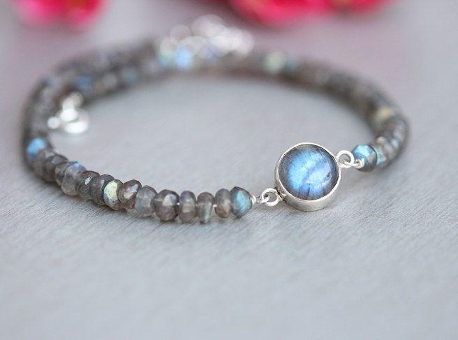 Labradorite Bracelet Beaded