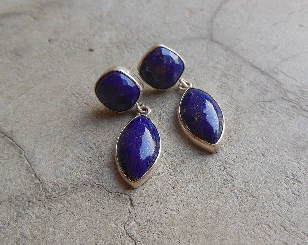Blue Earring Lapis lazuli earrings