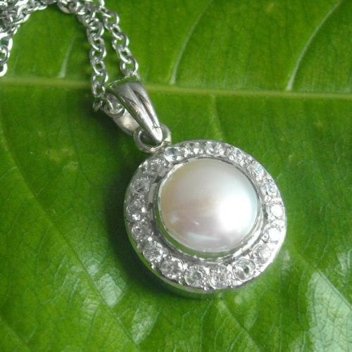 Bridal Pearl Pendant wedding jewellery