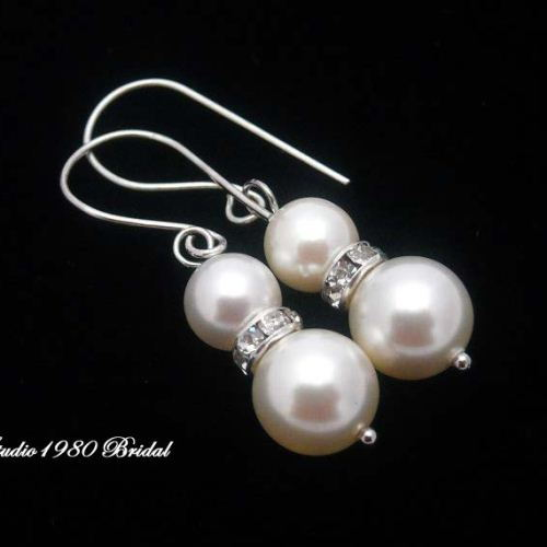 Bridesmaid earrings Bridemaids gifts