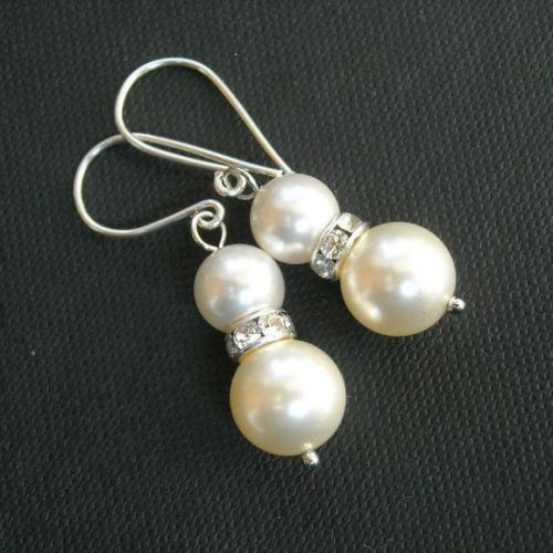 bridesmaid for brides real weddings bridesmaids earringsnation earrings