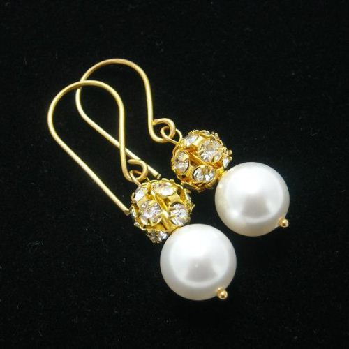 Bridesmaid jewelry Bridal pearl