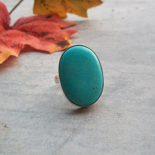December birthstone rings Green turquoise