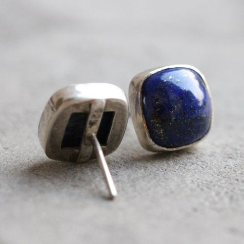 stud in irene lapis lyst jewelry gallery lazuli metallic product gold blue neuwirth earrings normal