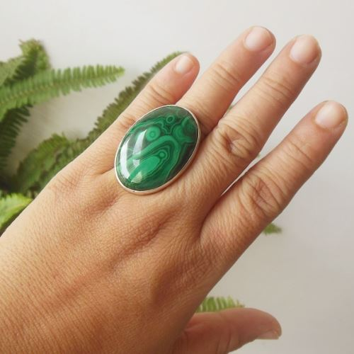 Resultado de imagen para malachite rings