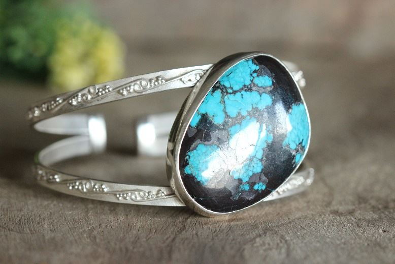 Turquoise bracelet sterling silver Buy