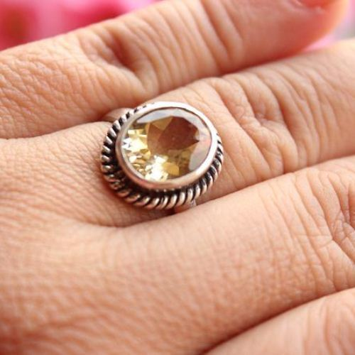 band citrine golden h diamond s if il gold valentines rings cut wedding si yellow ring valentine engagement solid day gift in round