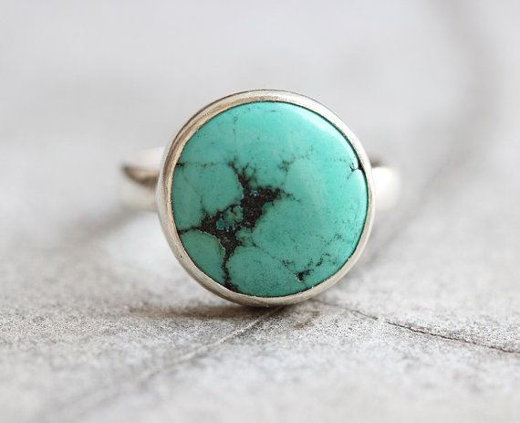Turquoise Ring Gift for her