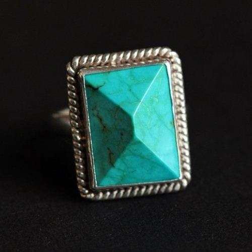 Buy Sterling Silver Turquoise Ring Jewelry Statement Ring
