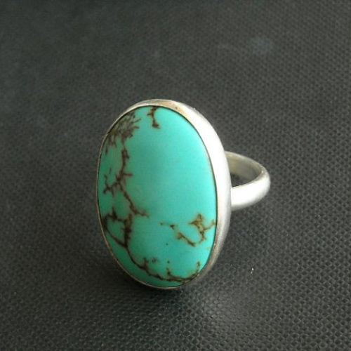 Turquoise Rings Artisan Ring Gemstone Ring