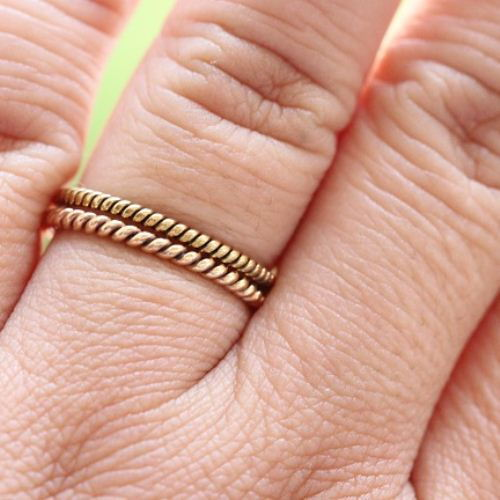 band ring bands evine gucci product flex bamboo gold
