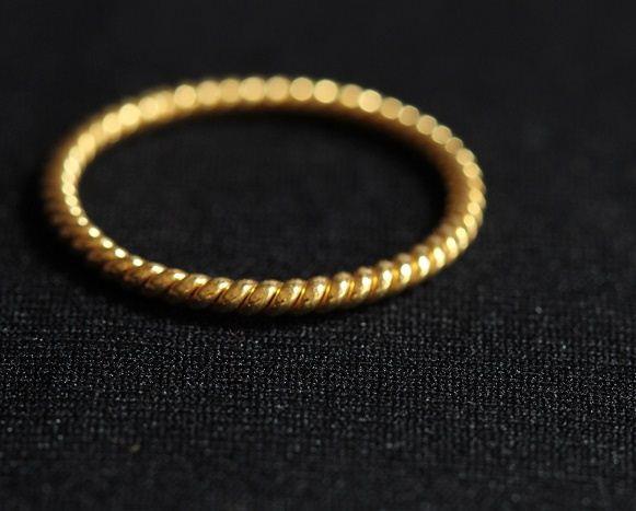 Buy Wedding Band 22K yellow Gold Band ring Handmade wedding ring