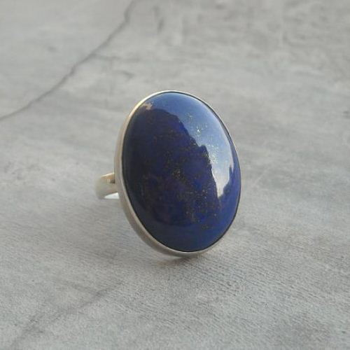 Buy Lapis Lazuli Ring Sterling Silver Jewelry Blue Lapis Rings For Women Online At Astudio1980 Com