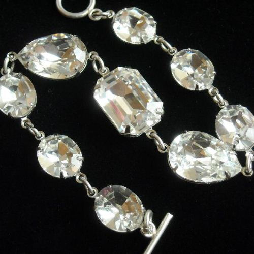 Swarovski Crystal Bracelets Bridal