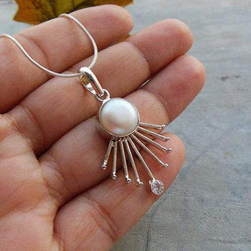 Buy Unique Handmade Jewelry Freshwater Pearl Silver